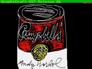 Andy Warhol, Campbell's, 1985, ©The Andy Warhol Foundation for the Visuals Arts, Inc.