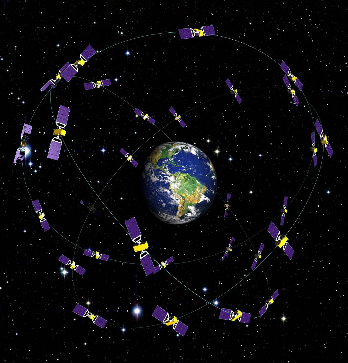 Galileo Sat Constellation