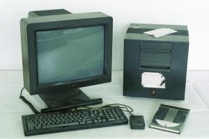 Das NeXTcube-System von Tim Berners-Lee (Foto CERN)