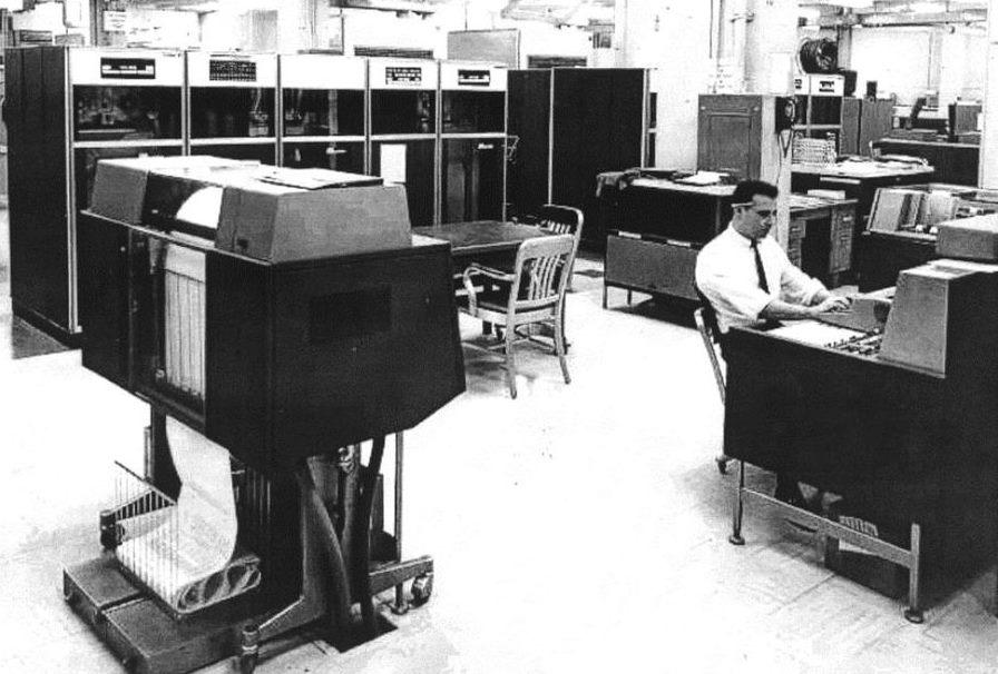 Spezialrechner IBM HARVEST in der NSA (1962)