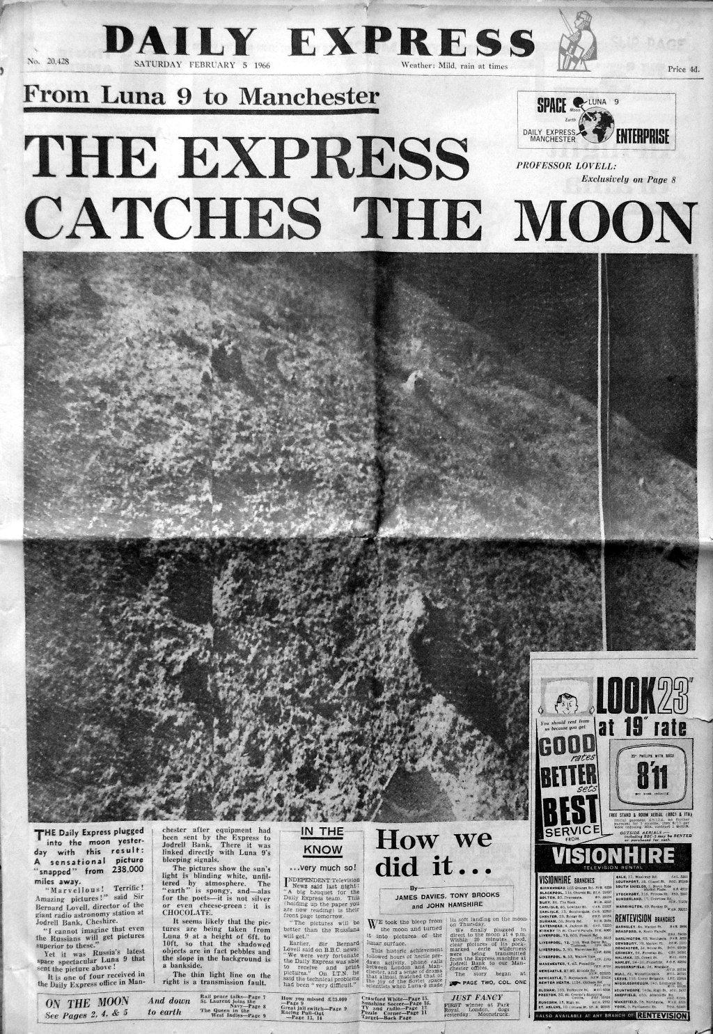 """""""Daily Express"""", 5. Februar 1966"""