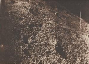 Luna-9-Foto des Teleskops Jodrell Bank