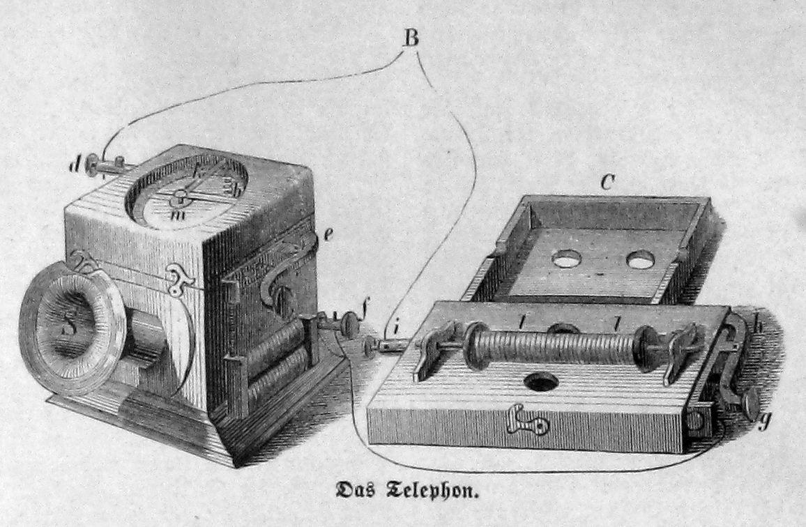 Telefon von Philipp Reis (1863)