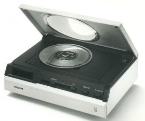 Prototyp des Philips-CD-Players