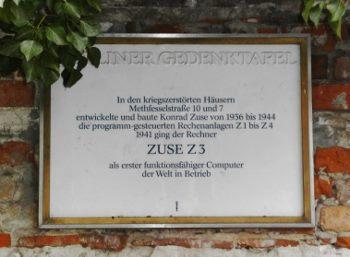 Gedenktafel an der Methfesselstraße 7