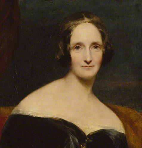 Mary Shelley um 1840