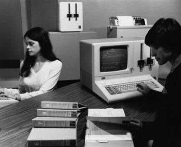 """Datamaster"" vom Juli 1981 (Foto IBM)"