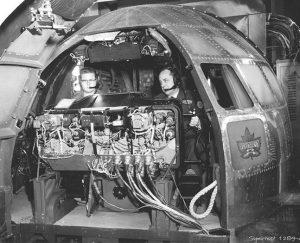 Simulator des US Air Force aus den 1950er Jahren für das Tankflugzeug KC 97
