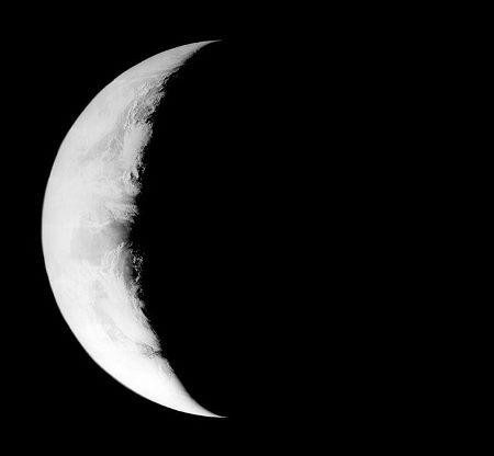 """""""Abnehmende Erde"""" vom 25. August 1966"""