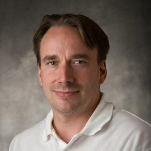 Linus Torvalds einmal ohne Brille (Foto GitHub)