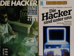 Hacker-Bücher aus dem Frühjahr 1985