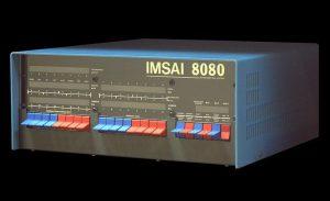 Mikrocomputer IMSAI mit CP/M-Betriebssystem