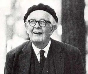 Jean Piaget um 1968
