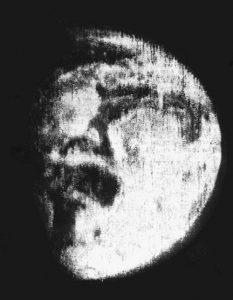Sowjetisches Satellitenfoto vom Mai 1966