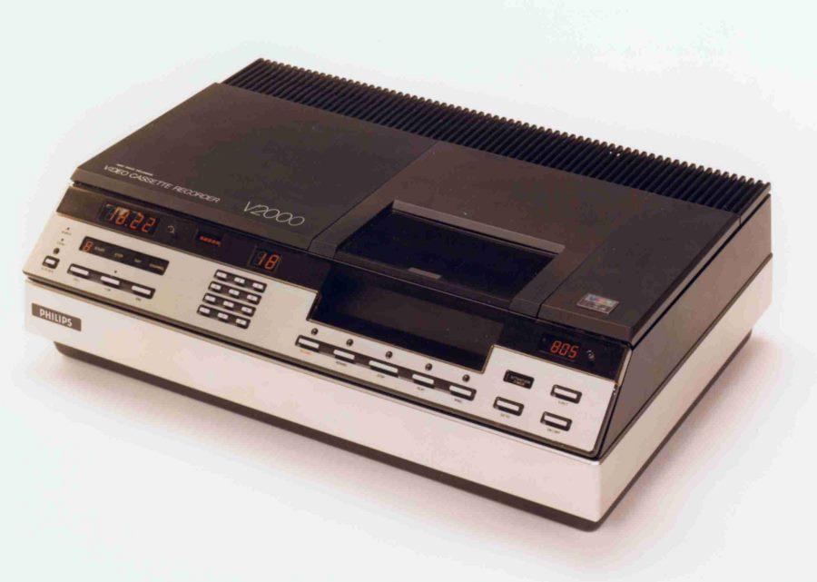 Video-2000-Gerät von Philips von 1979 (Foto Philips)