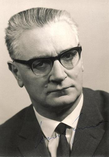 Konrad Zuse im Jahr 1966 (Foto Horst Zuse)