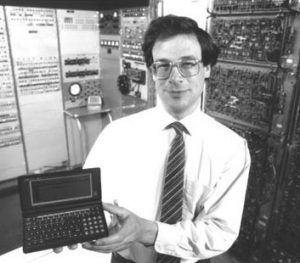 Oliver Strimpel im Bostoner Museum (Foto Computer History Museum)