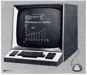 Grafik des SIG-100 mit Rollkugel vom Oktober 1968 (Foto FH Kiel)