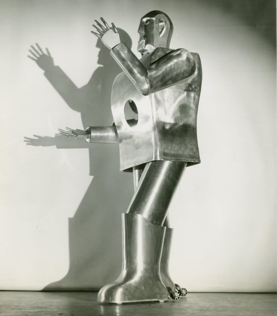 Roboter Elektro (Foto New York Public Library)