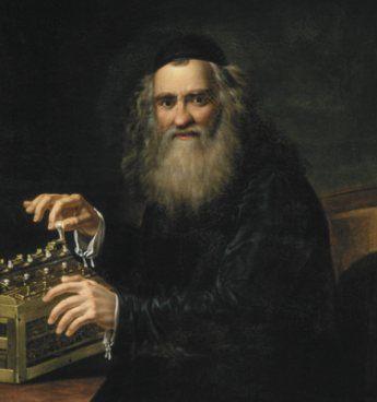 Abraham Stern und seine Rechenmaschine