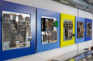 Collagen von Ludwig Fromm im Computermuseum der FH Kiel