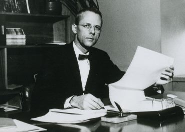 1961 als Management-Professor (Foto MIT)
