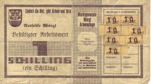Freigeld aus Wörgl (Österreich)