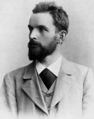 Silvio Gesell im Jahr 1895