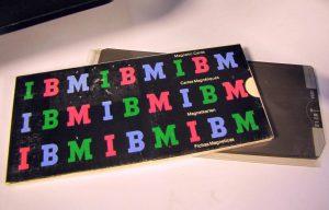 Karten der IBM-Magnetkarten-Schreibmaschine