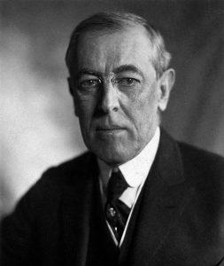 US-Präsident Woodrow Wilson